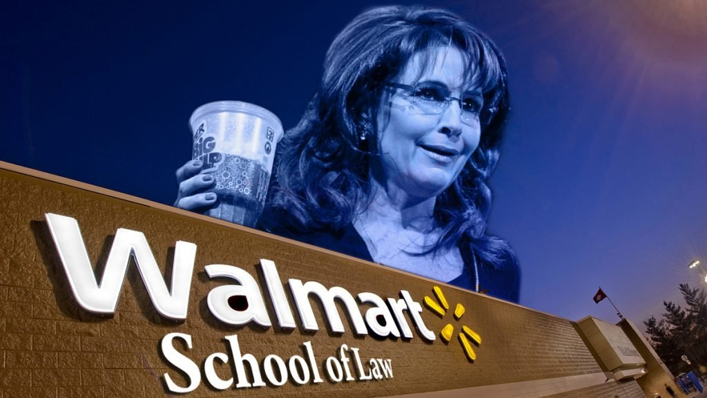 Sarah Palin mastered our 90 day law degree program in just over two years