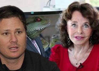 Blink 182's Tom DeLonge claims that esteemed alternative reporter Linda Moulton Howe is a reptilian.