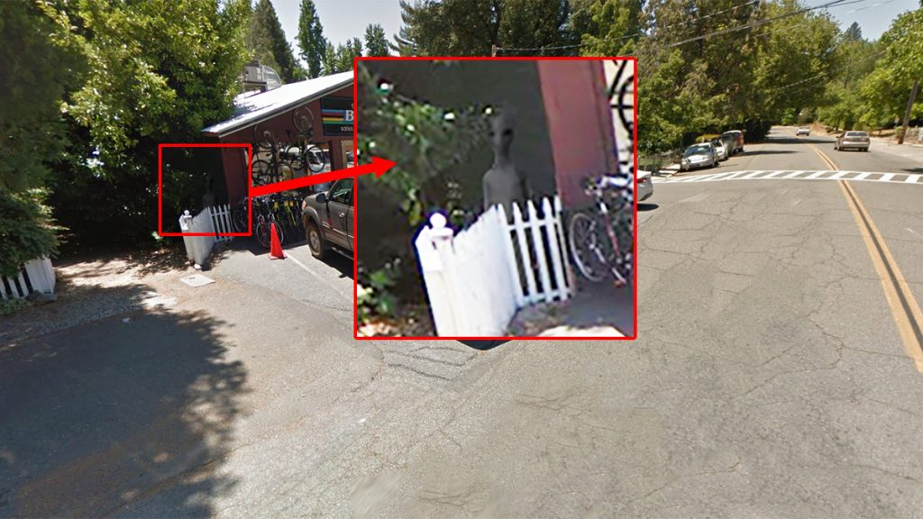 Google Street View photo provided by Thomas Ritchie of Citrus Heights, CA, with enhancements.