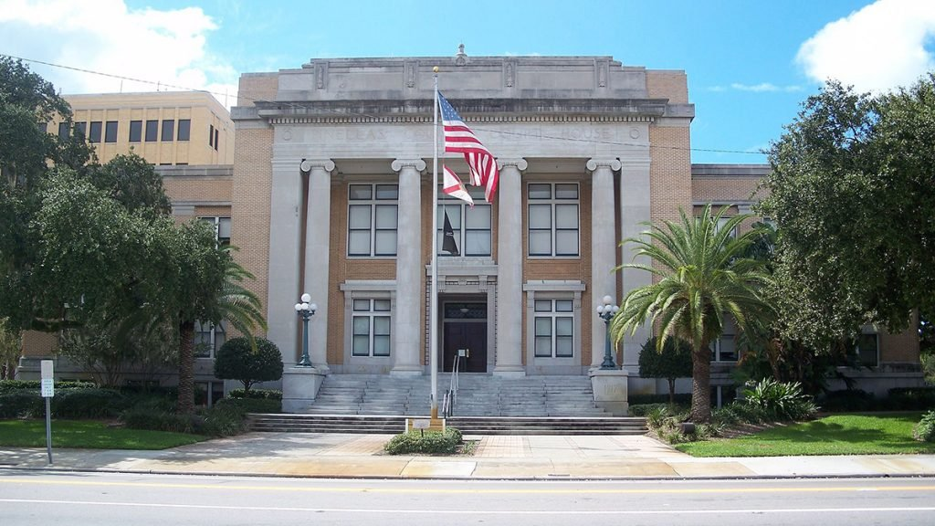 Refugees will be processed and briefly held at the Old Pinellas County Courthouse. Source: Ebyabe