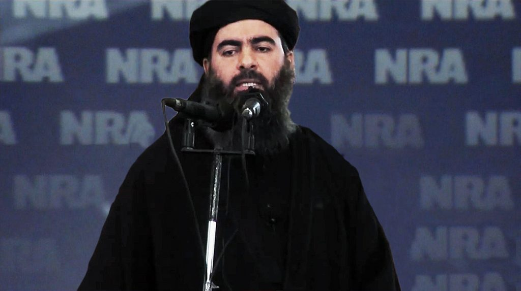 ISIS is thrilled with the support they're getting from the National Rifle Association.