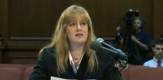 Madison Star Moon testifying at an August 2015 EPA hearing on Chemtrails.