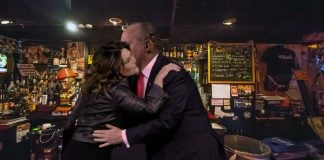 Sarah Palin and Rush Limbaugh were caught snuggling in a Missoula, Montana bar.
