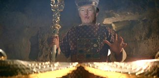 President Trump will ask military to hunt down the Ark of the Covenant and the Holy Grail.