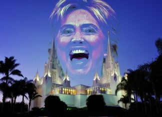 Hillary Clinton is indeed the Anti-Christ, according to Mormon elders.