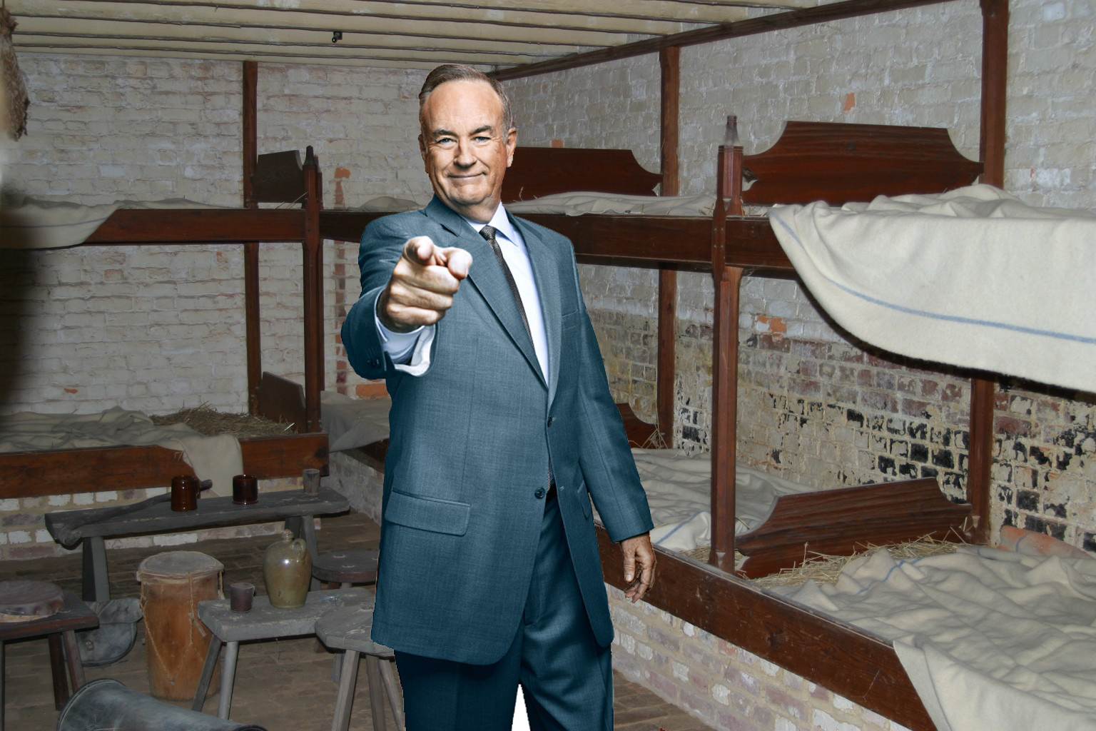 Bill O'Reilly enjoyed his plantation orientation. He looks forward to doing a little 'hard work' tomorrow.