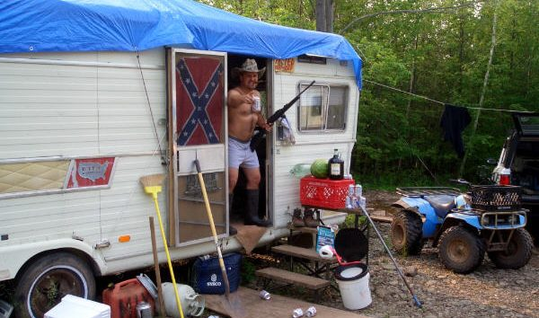 Jesse Derpwitz at his home in Alabama