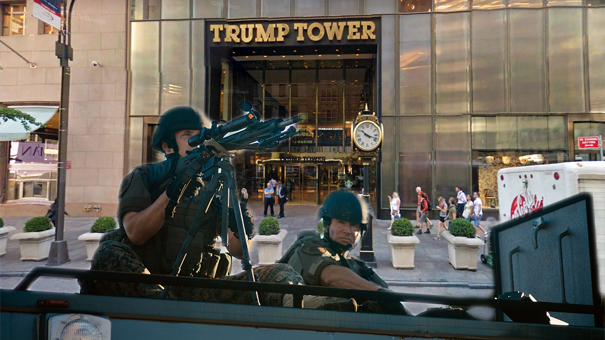 Police didn't hesitate to shoot 32-year-old Miguel Rodriguez as he attempted to climb Trump Tower.