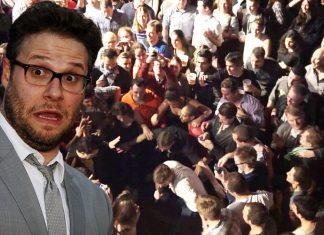 Seth Rogan was assaulted during the premiere of his latest film Sausage Party.
