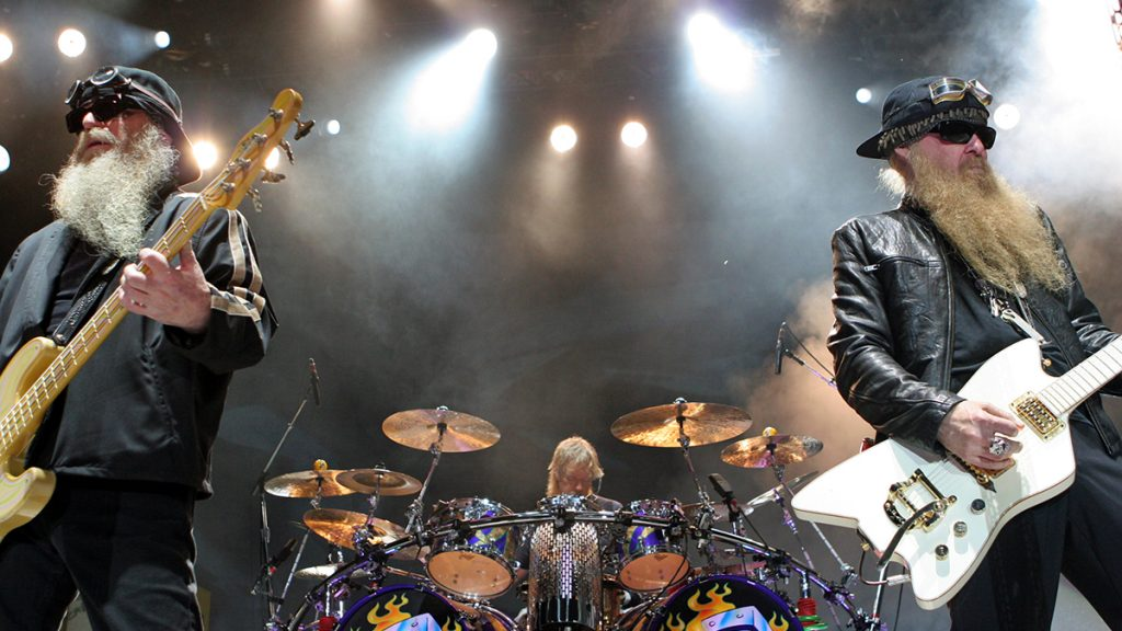 ZZ Top's Billy Gibbons [right] and three others were found in a fiery car crash.