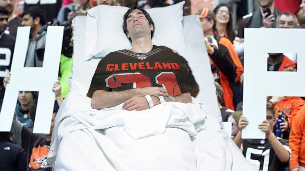The troubled Cleveland Browns football franchise is offering its fans a novel new service: assisted suicide.