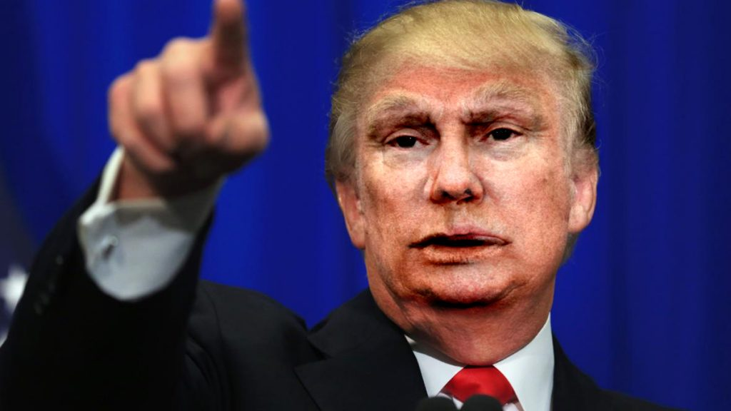 "Donald Trump: ""is there any way Vladimir Putin could 'pinch president' for him."""