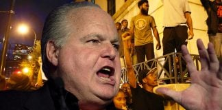 Popular radio talk show host Rush Limbaugh suggested that 49er Quarterback Colin Kaepernick whereabouts where unknown during the Charlotte riots.