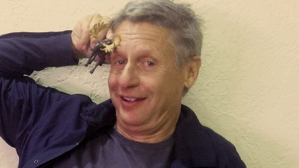 Libertarian candidate for President Gary Johnson can't name the Libertarian candidate for President.