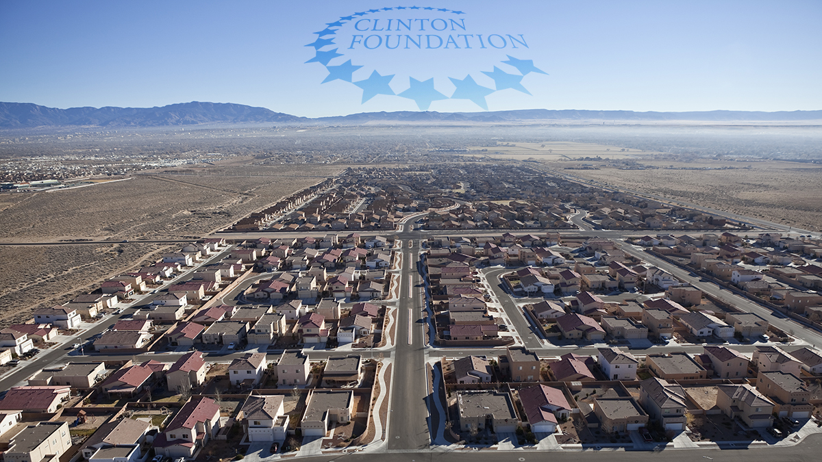 Homes in Arizona with mortgages held by the Clinton Foundation.