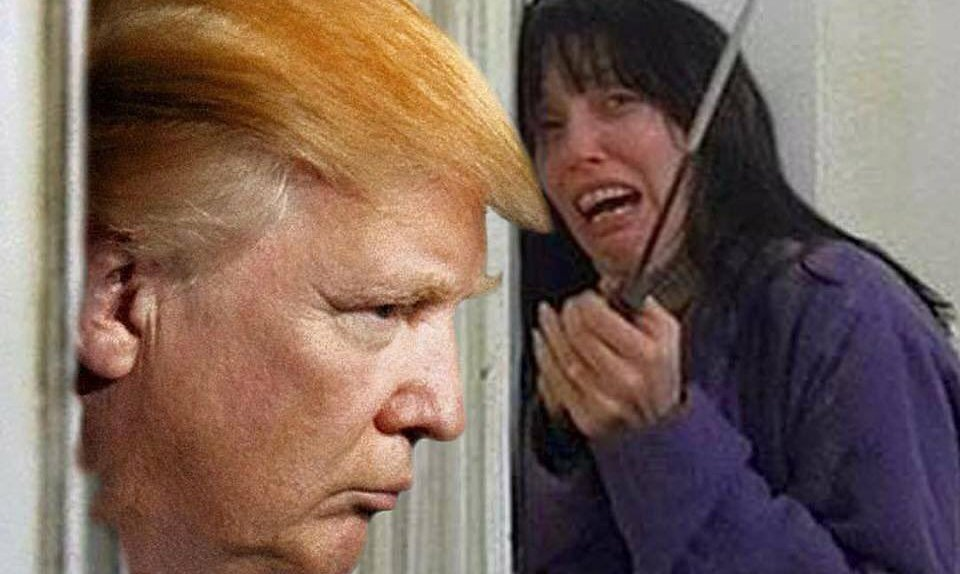 Donald Trump to start as Donald Trump in a remake of the Shining next year.
