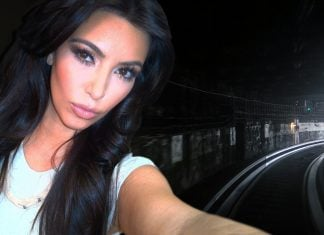 Kim Kardashian in the now-famous Dresden tunnel episode.