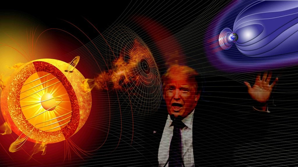Is the coronal mass ejection apart of a rigged election?