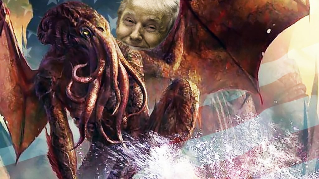 Cthulhu, the gigantic, wholly evil entity worshiped by cultists who conducts human sacrifices, will be Trump's pick for Secretary of State.