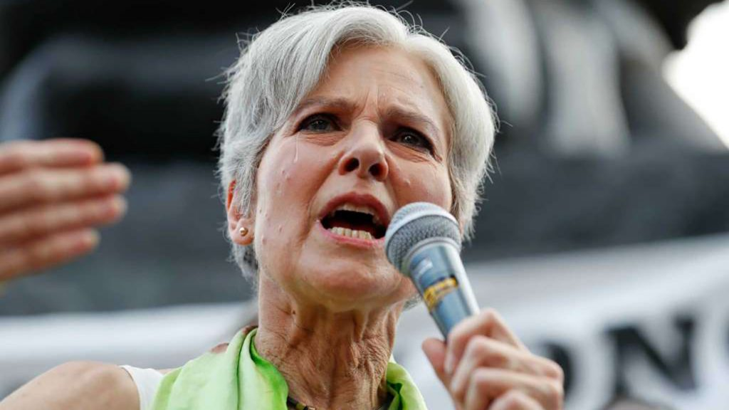 In a tearful farewell speech, Green Party Candidate Jill Stein said she was dropping out of the 2016 presidential race to work on her Morgellons Disease.