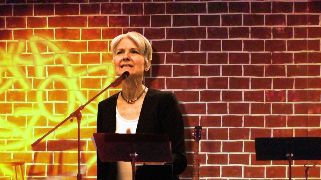 "Jill Stein's attempt at ""sensitive"" comedy bombed over the weekend at a Eugene, Oregon comedy club."