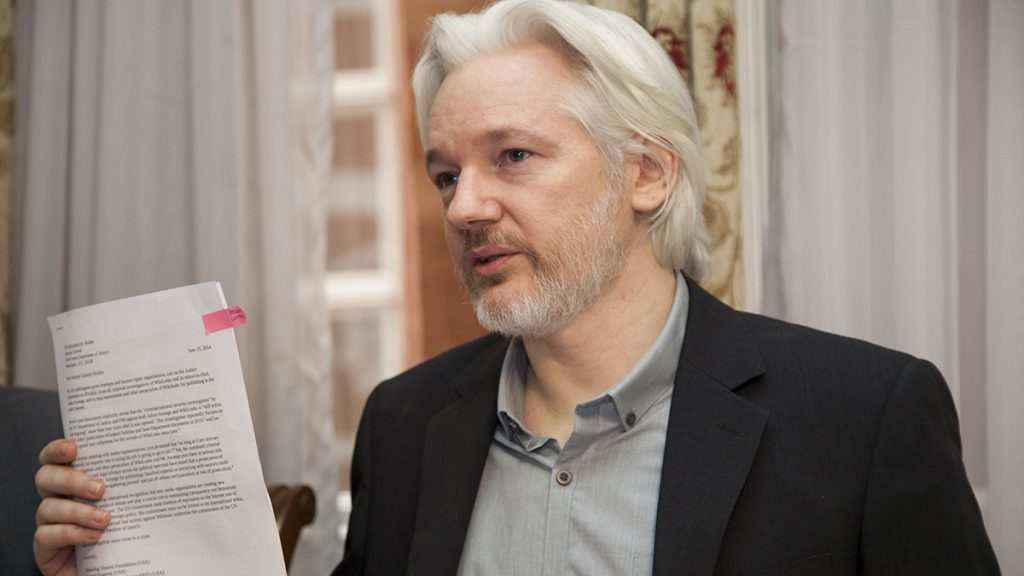 Julian Assange has been offered political Asylum in Nevada City, CA.