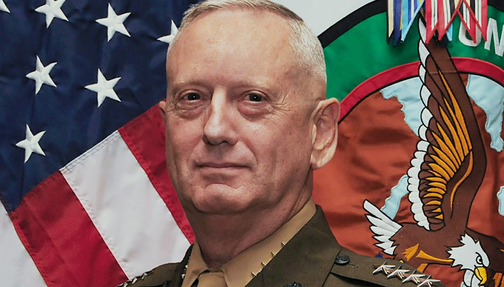 "General James ""Mad Dog"" Mattis wanted the word ""Secretary"" removed from his title."