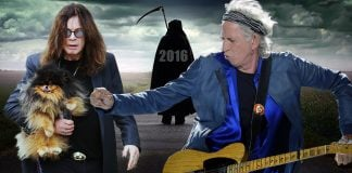 Somehow both Ozzy Osbourne and Keith Richards have escaped the grips of death in 2016.