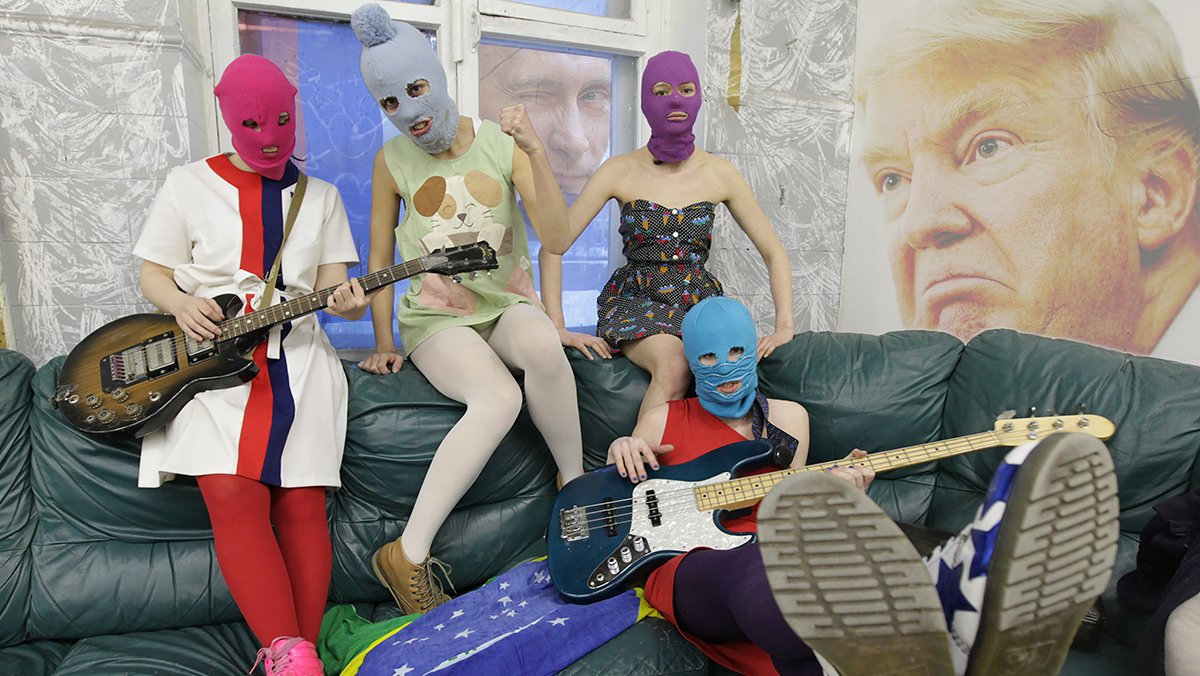 President-elect Trump has enlisted the controversial Russian feminist punk rock group Pussy Riot to play at his inauguration.