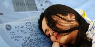"""Brenda """"Dusty"""" Woods of Nevada City, CA says her utility smart meter gives her vivid dreams."""