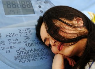 "Brenda ""Dusty"" Woods of Nevada City, CA says her utility smart meter gives her vivid dreams."