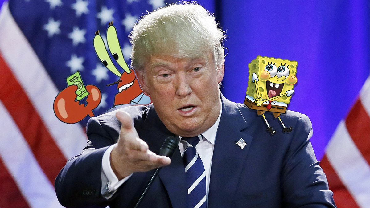 Spongebob Squarepants will perform at Donald Trump's inauguration.