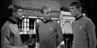 Nevada City, CA is in fact an old Star Trek set from the 1960s according to researchers.