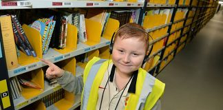 Children need to become familiar and comfortable working in a 24-hour warehouse environment.