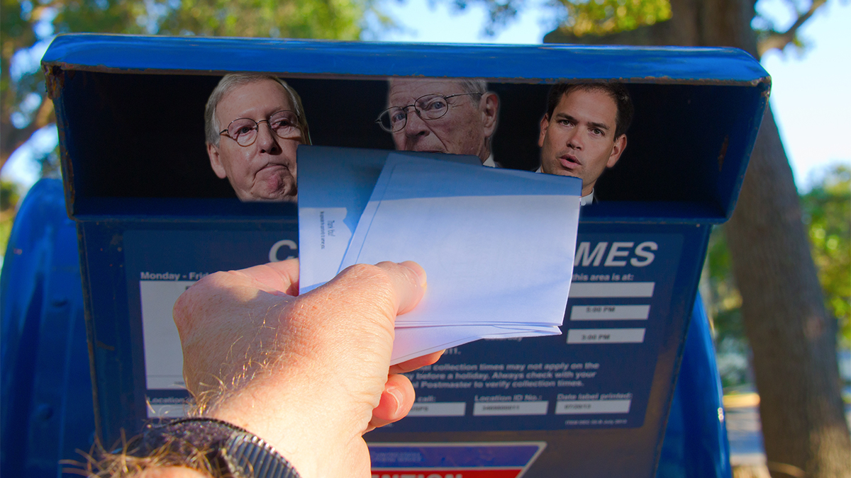The United State Postal services has been authorized by Congress to open your mail.