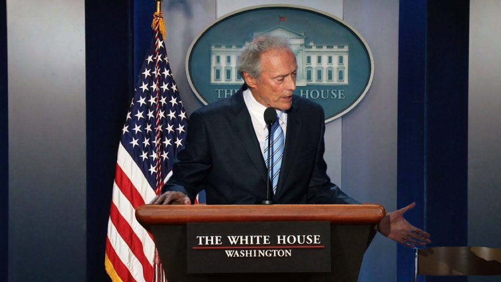 Rumors abound about a possible Clint Eastwood to replace embattled Press Secretary Sean Spicer.