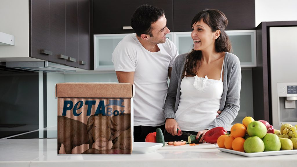 People for the Ethical Treatment of Animals or PETA is hoping that their new meal kit service will change some minds.