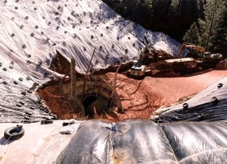 Construction workers were terrified to find a monstrous Sarlacc during their repairs of the giant sinkhole in Grass Valley.