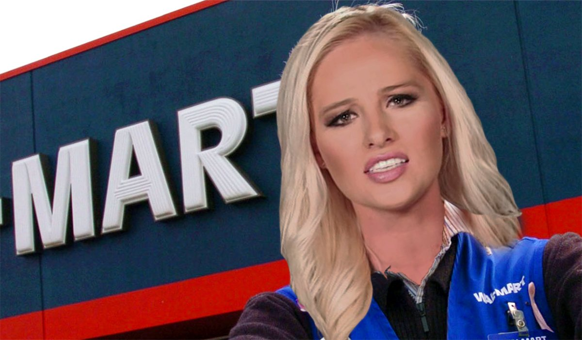 Timmy Lahren Walmart says she's getting used to her new role.