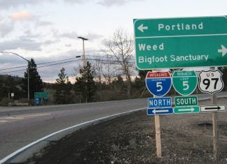 The secessionist State of Jefferson announced the nation's first Bigfoot refuge.