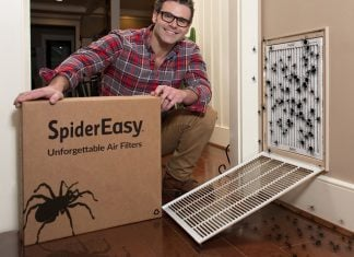 """A Texas start-up's innovative """"spider"""" air filters has become a a nuance for hundreds of American homes."""