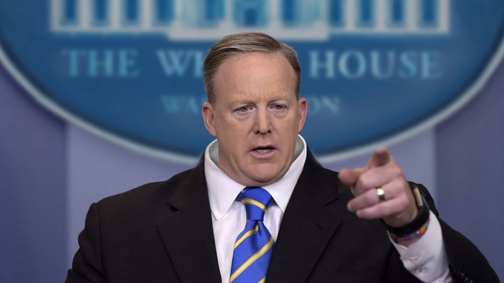 According to White House Press Secretary Sean Spicer, the former Obama Administration didn't vet President Trump's picks.
