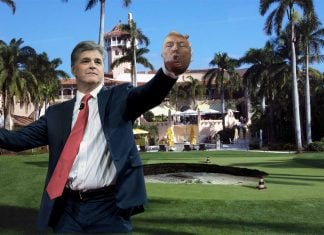 Sean Hannity has purchased a special piece of President Trump