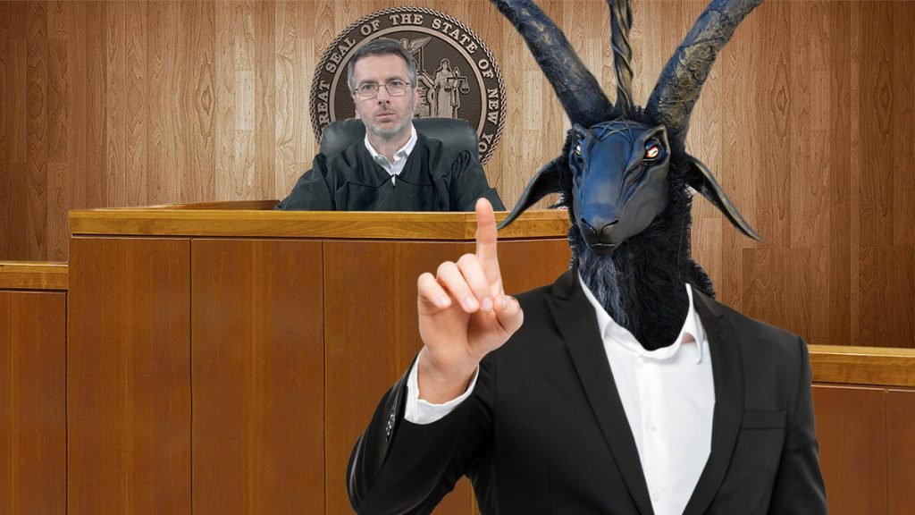 Satanists argue that the court should restore the grant.
