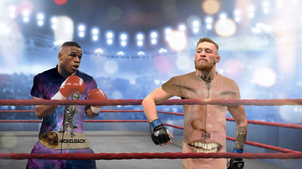 "Conor McGregor and Floyd Mayweather will don modern male ""rompers"" during their next match."