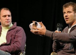 South Park creator Matt Stone admitted that character Eric Cartman is based on a childhood pet guinea pig.