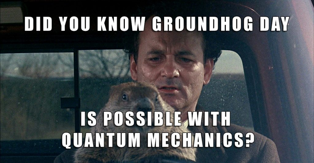 """The Goundhog Day """"meme"""" that went viral late last week."""