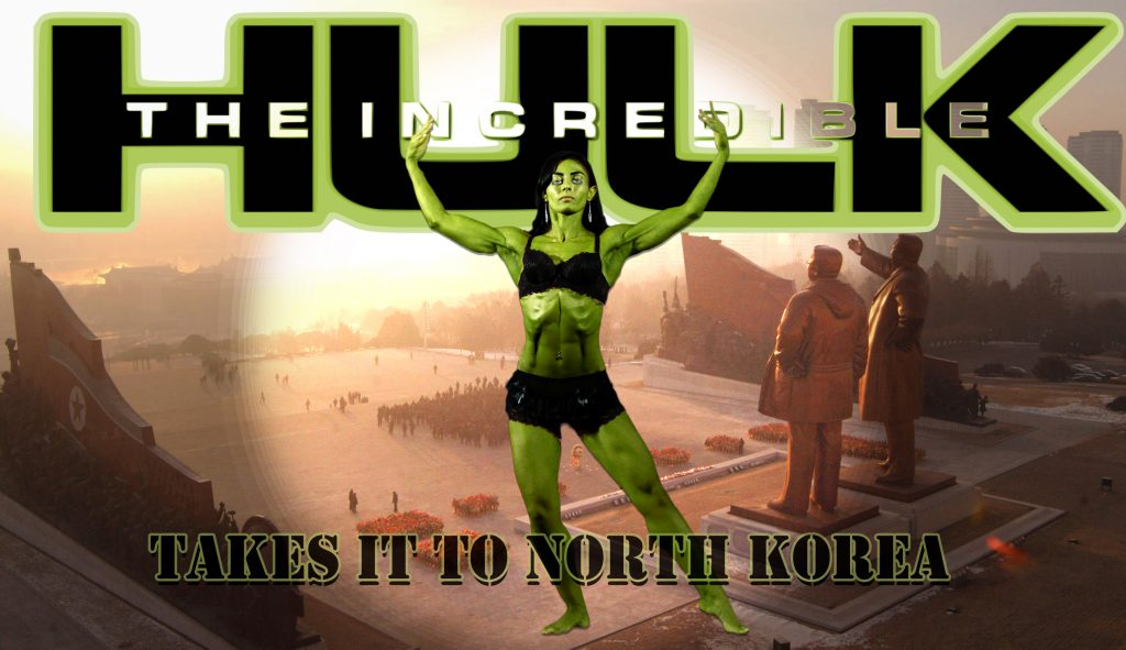 Anoush Belian is a female bodybuilder from East Jerusalem will play the Incredible Hulk.