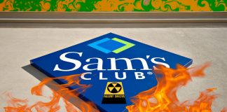 Sam's Club prepares stores across the nation for a nuclear fallout event.