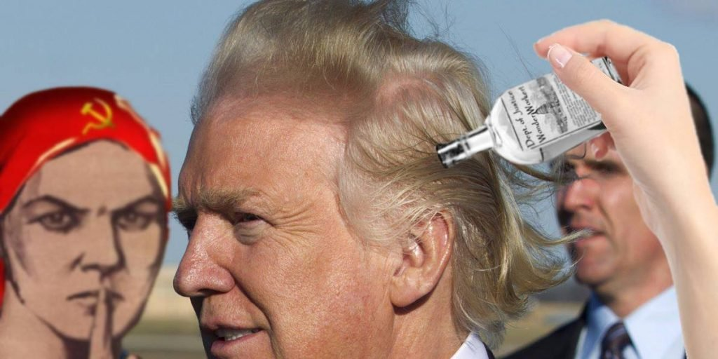 NSA Confirms Trump uses Russian manufactured Snake Oil Hair Formula.